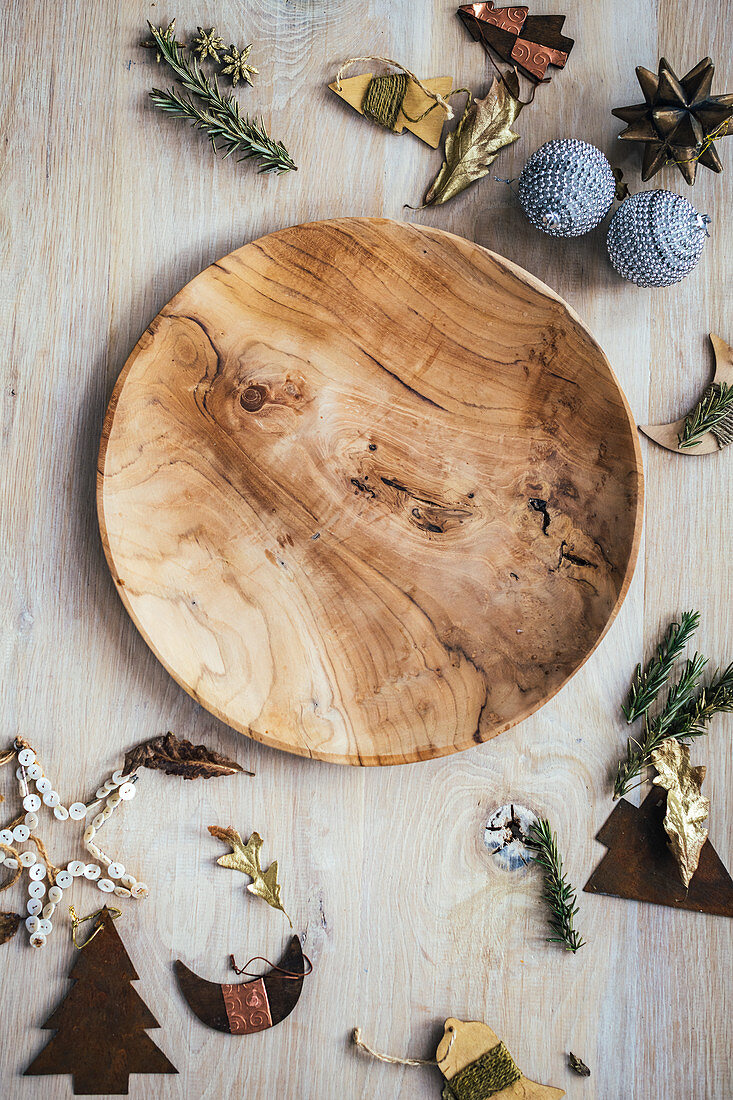 Wooden Xmas Decoration