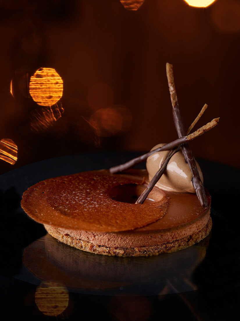 Pain d'epice with chocolate (France)