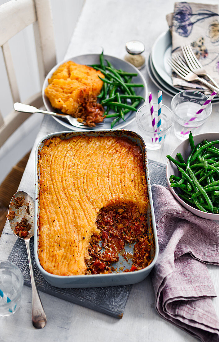 Swede Topped Cottage Pie