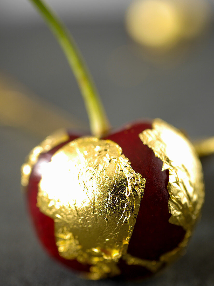 Gilded cherry (close-up)