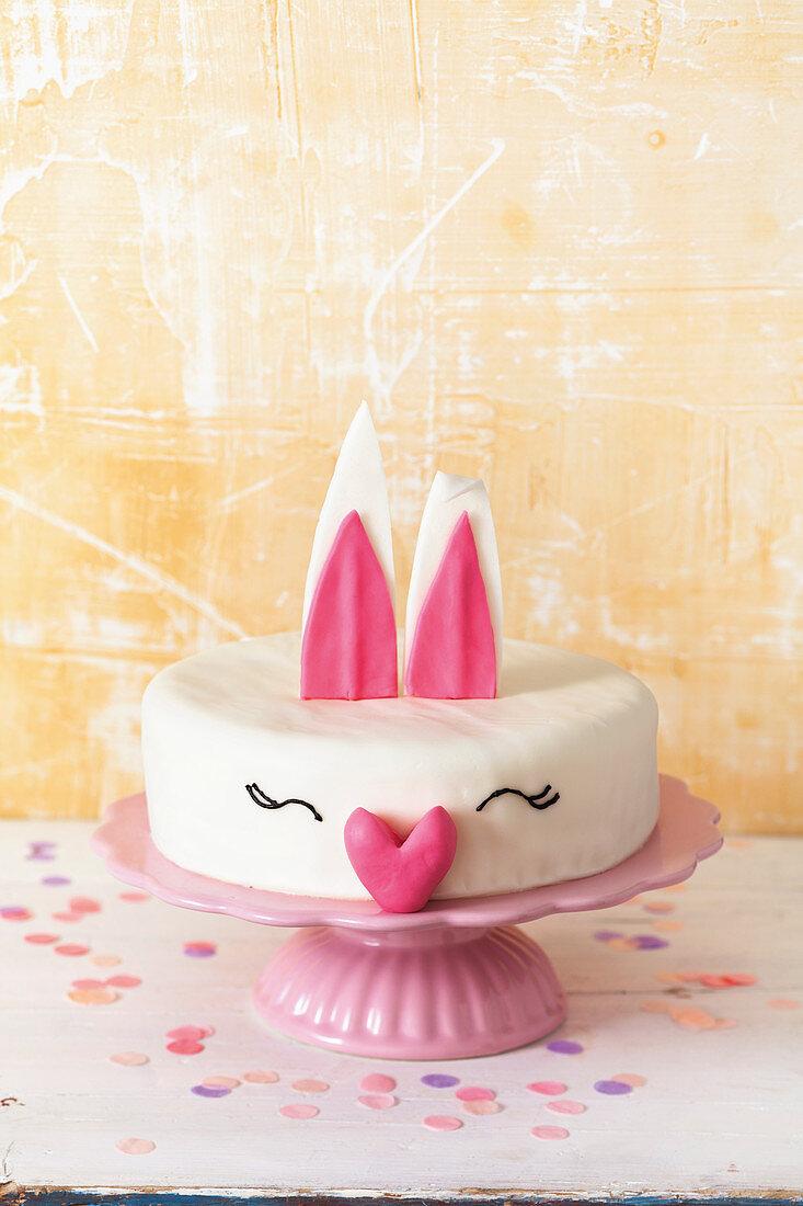 A rabbit cake