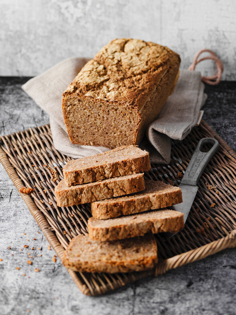 Siegerland Groffbroat (strong black bread made with coarse grain rye)