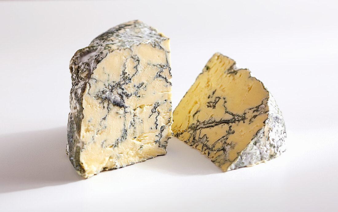Jersey Blue (blue cheese from cow's milk, Switzerland)
