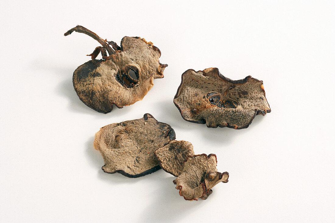 Sliced dried fruits