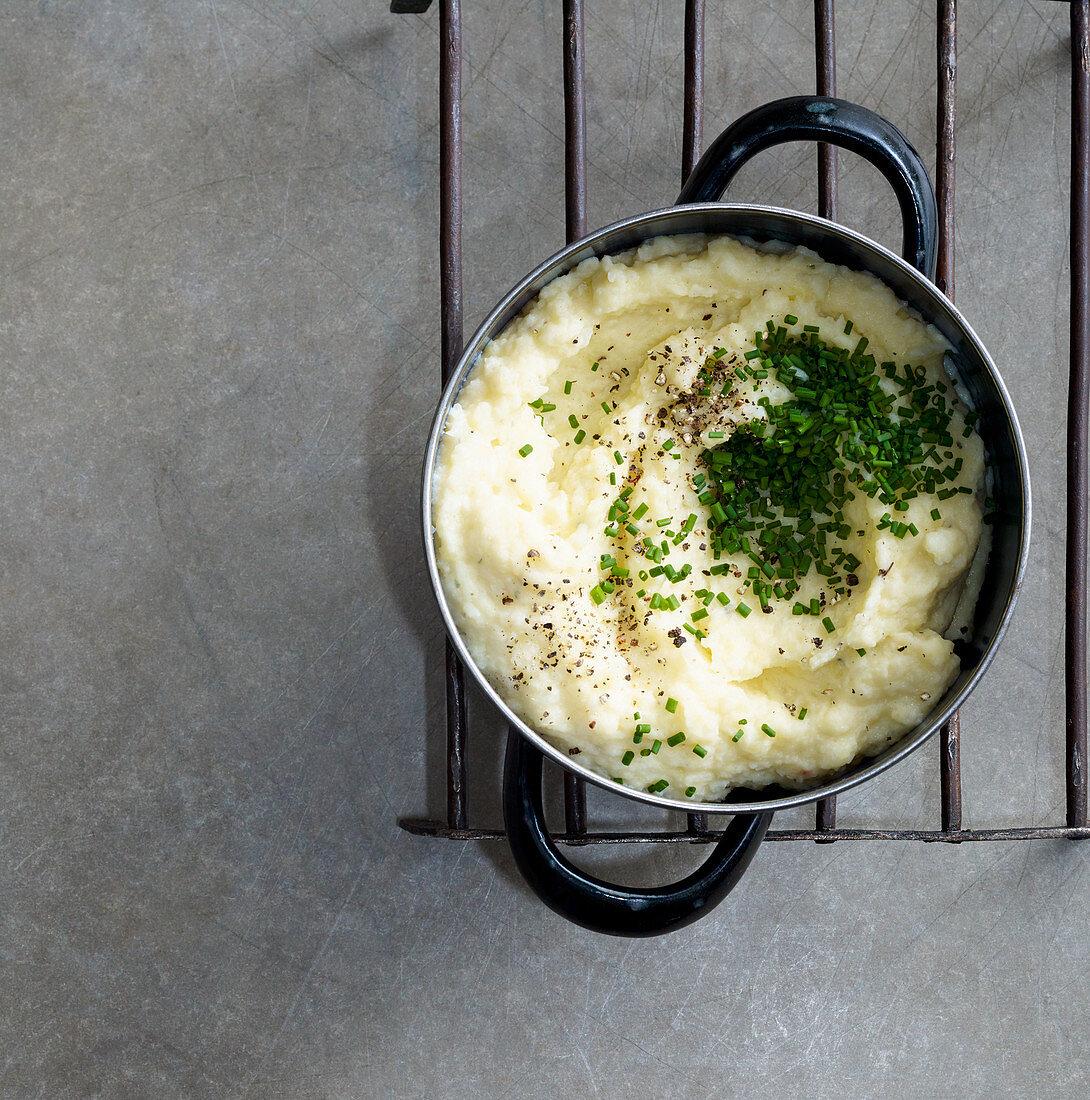 Mashed potatoes with cauliflower