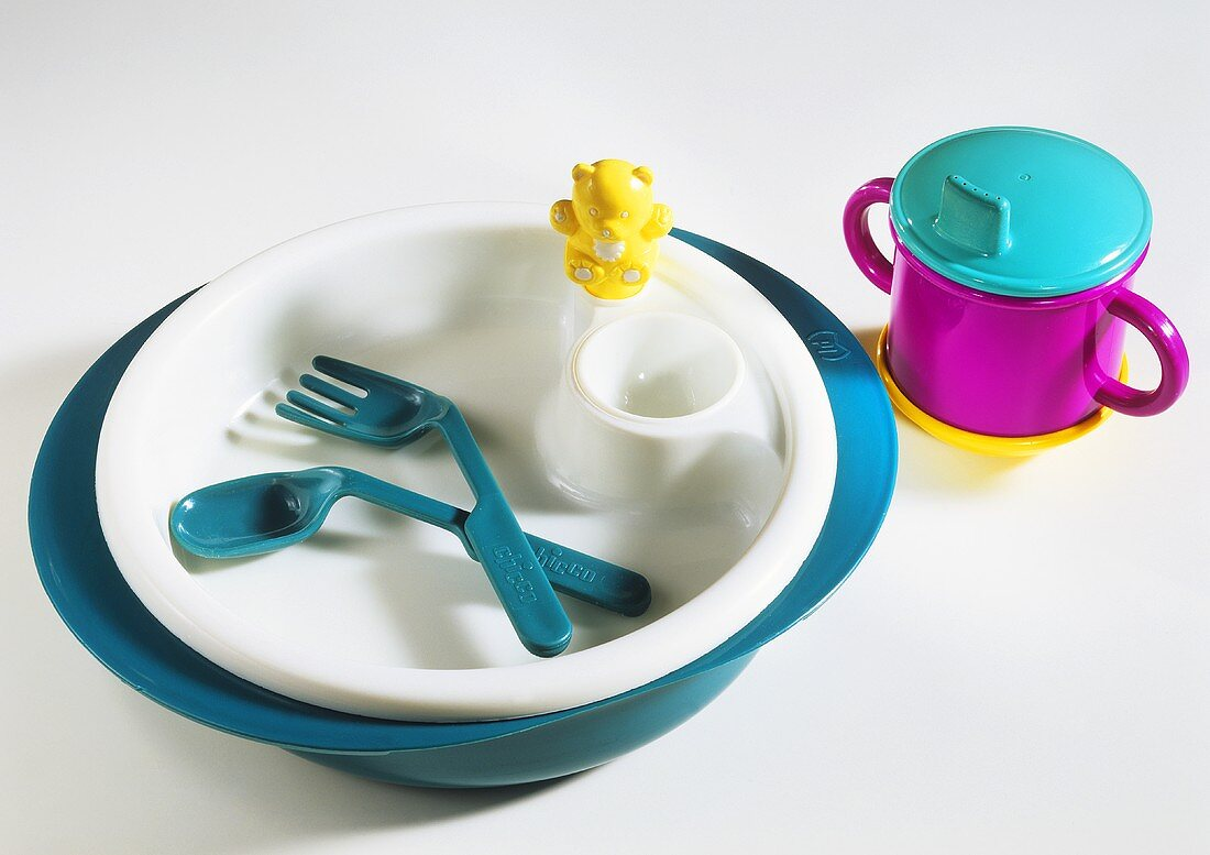 Plastic Place Setting for Child
