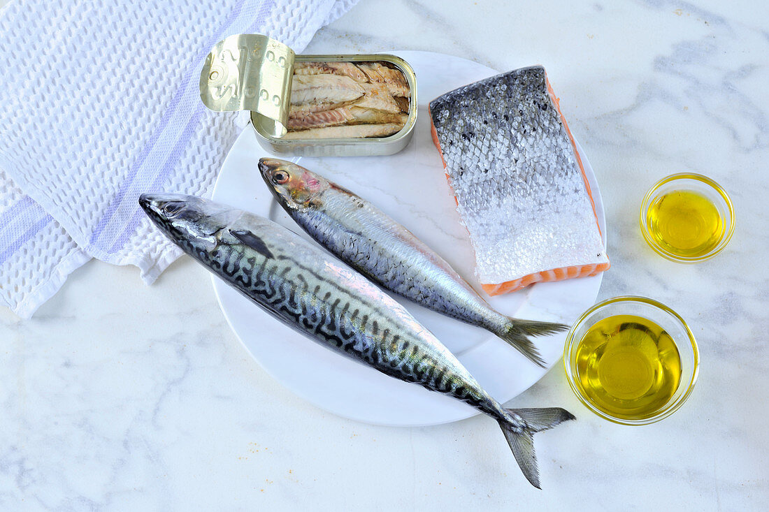 Fish and olive oil (anti-aging)