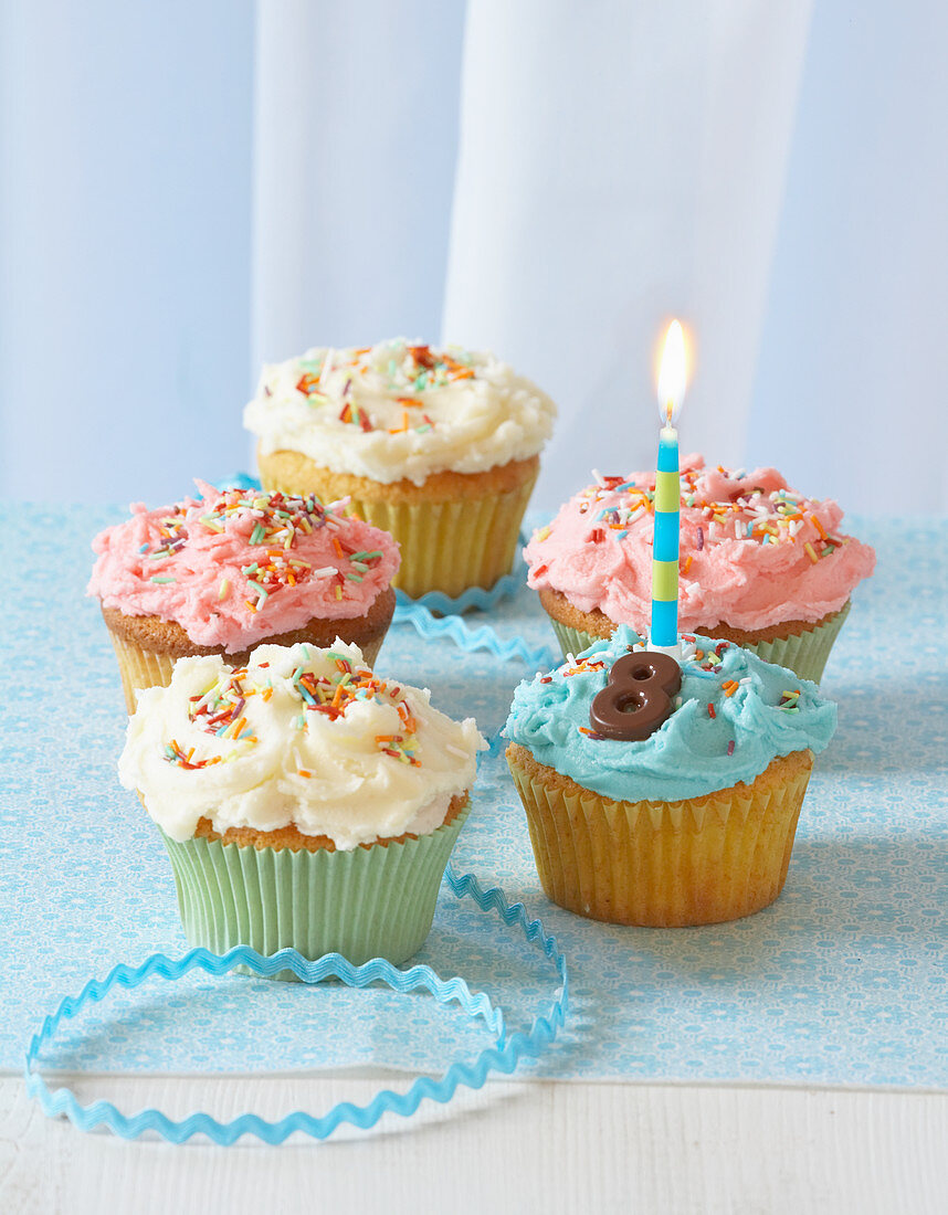 Cupcakes for a child's birthday