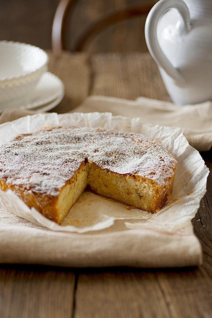 Torta di riso di mamma Ada (rice pudding cake, Italy)