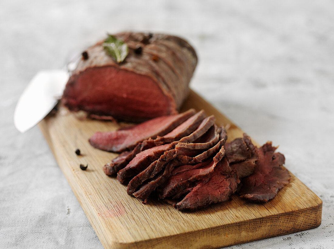 Tjälknöl - Swedish roast moose
