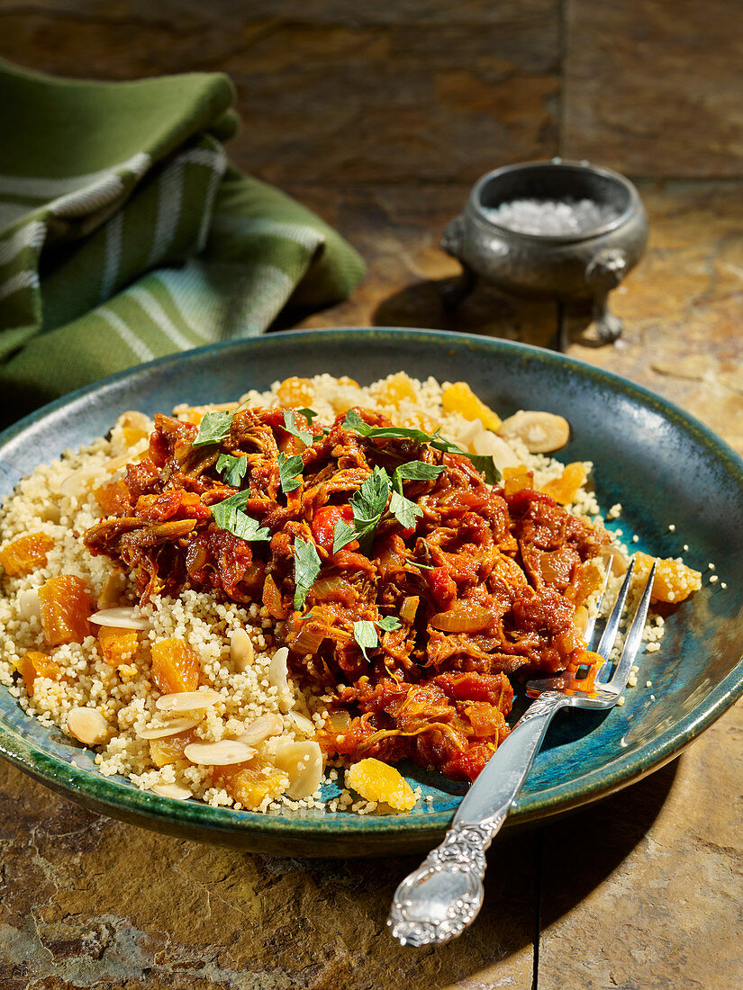 Slow Cooked Shoulder Of Lamb Tagine License Images 13177185 Stockfood