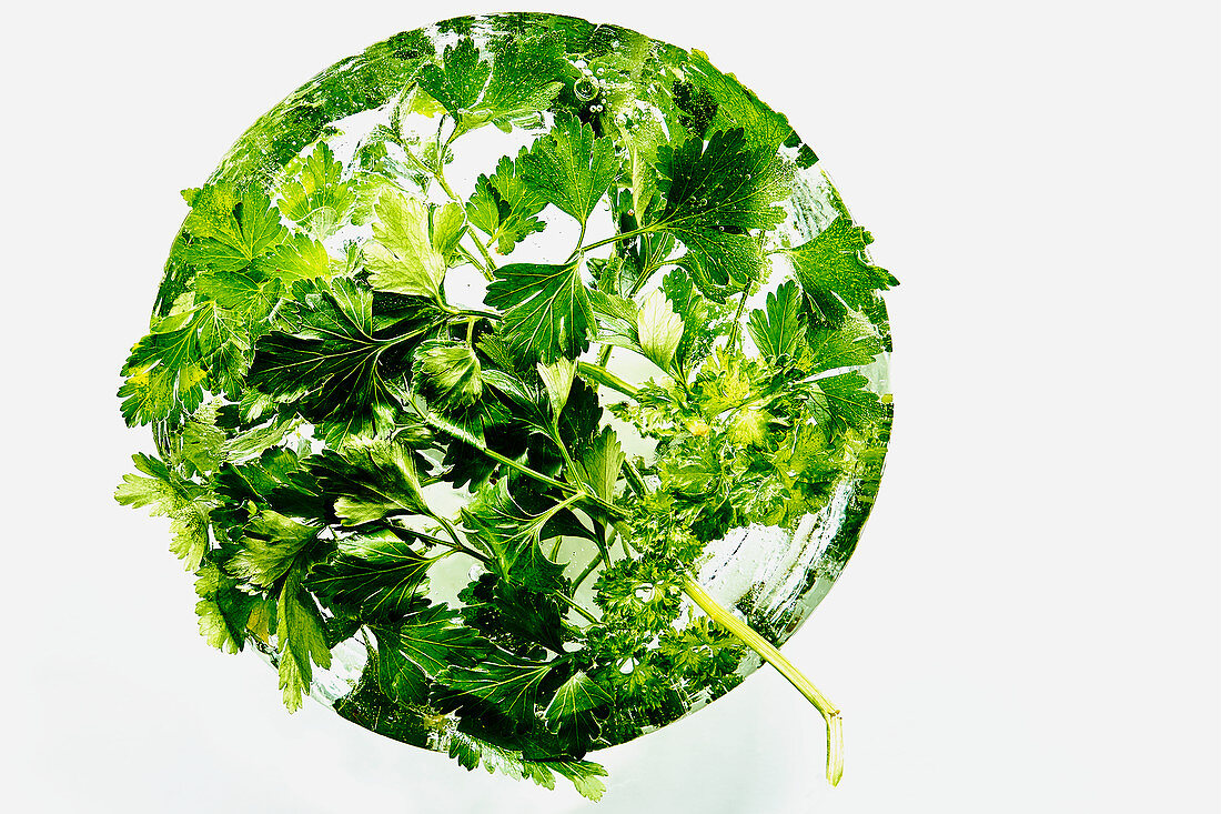 A ball of parsley