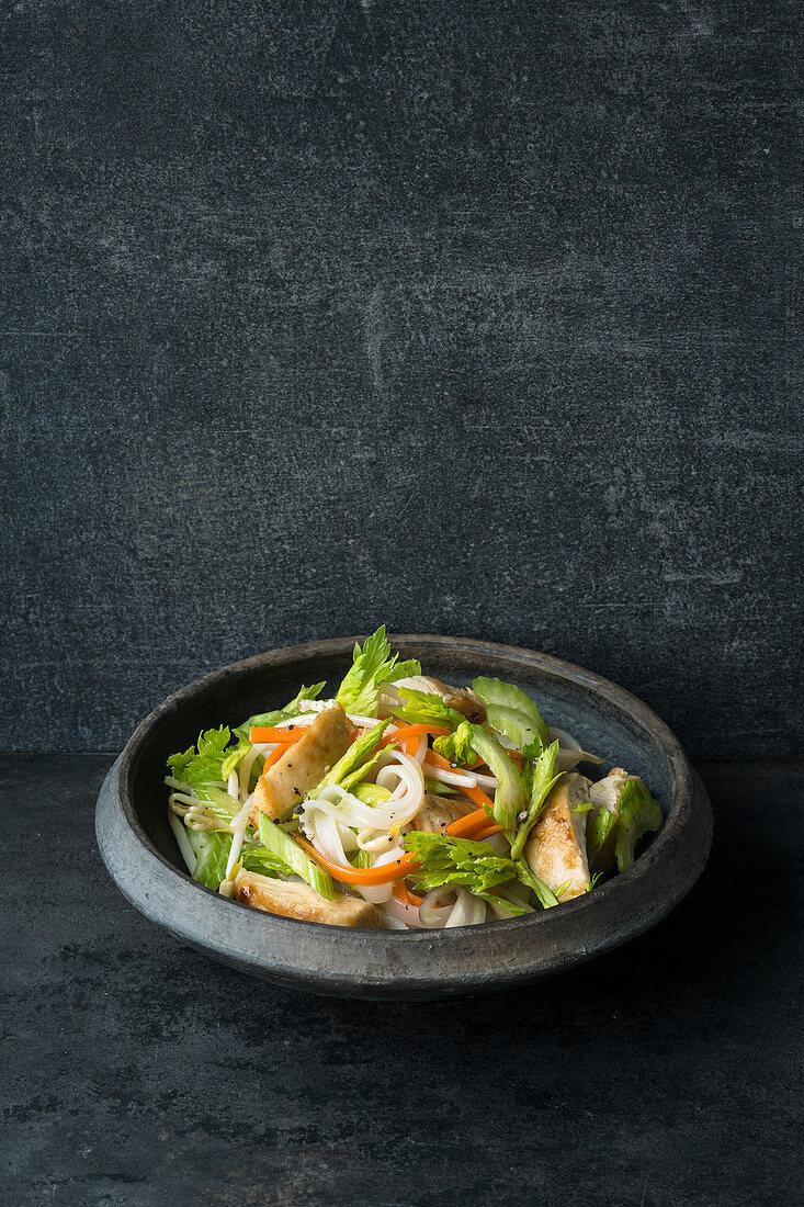 Thai salad with chicken