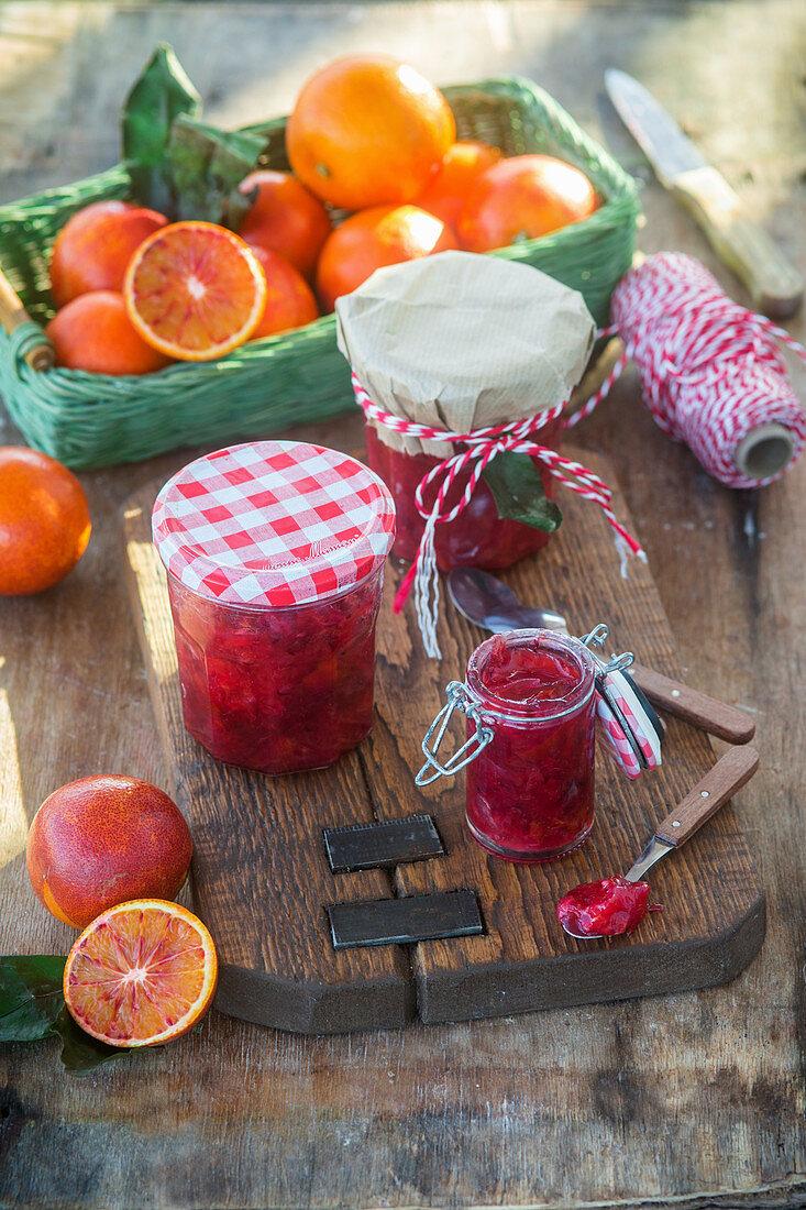 Blood orange Jam
