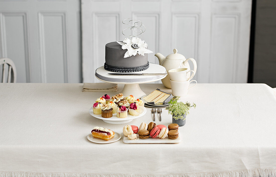 Afternoon Tea with Cake