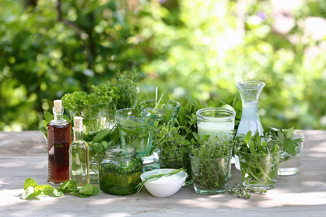 Kitchen herbs for detoxification