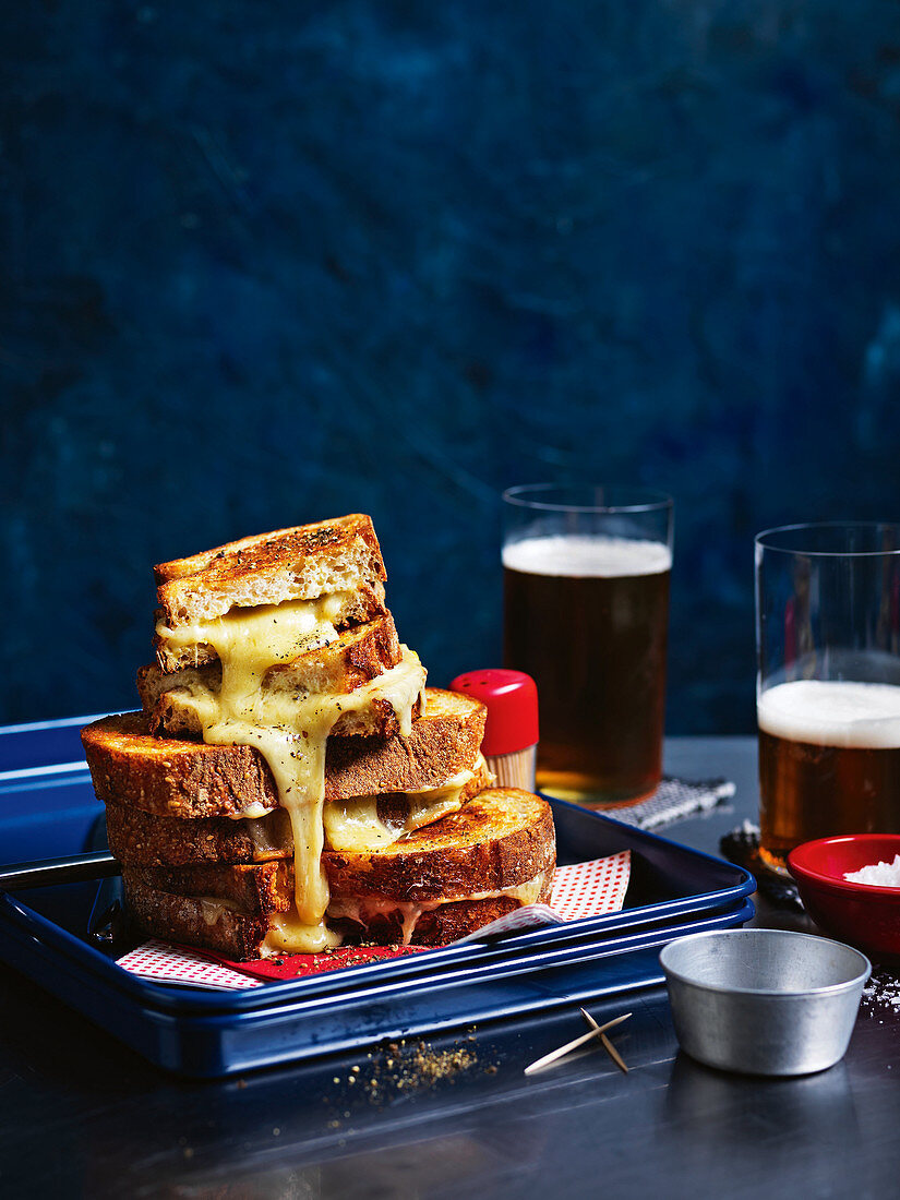 Best-ever toasted cheese sandwich