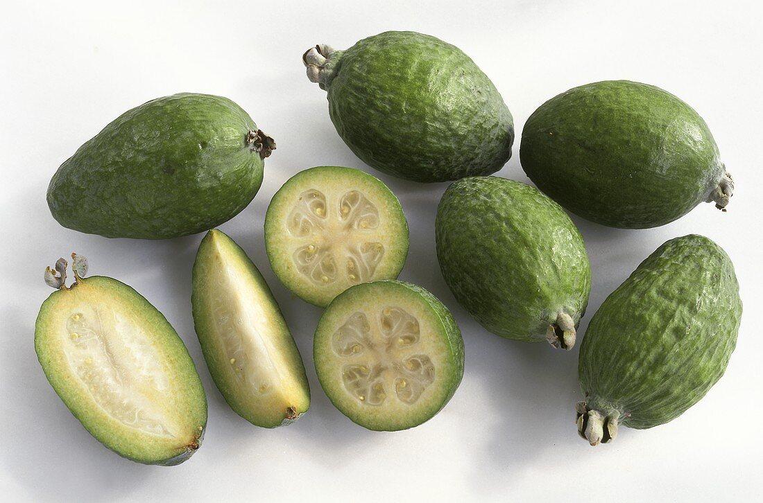 Exotic fruits: fejoa