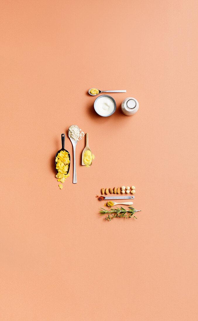 Alternative coating ingredients
