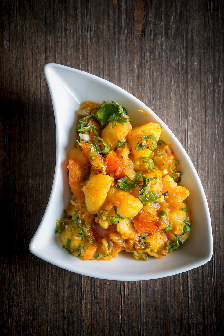 Heritage Potato Curry (India)