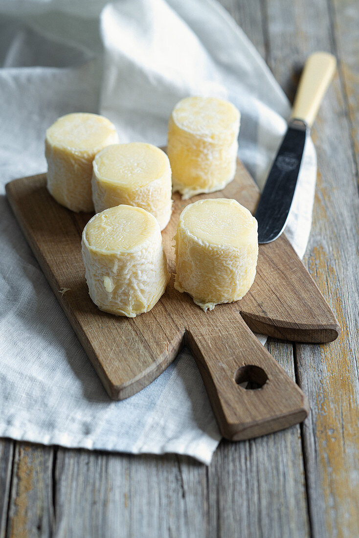 Agri di Valtorta (soft cheese from the Bergamo Alps, Italy)