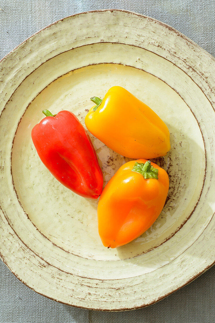 Orange chilli peppers (mild)