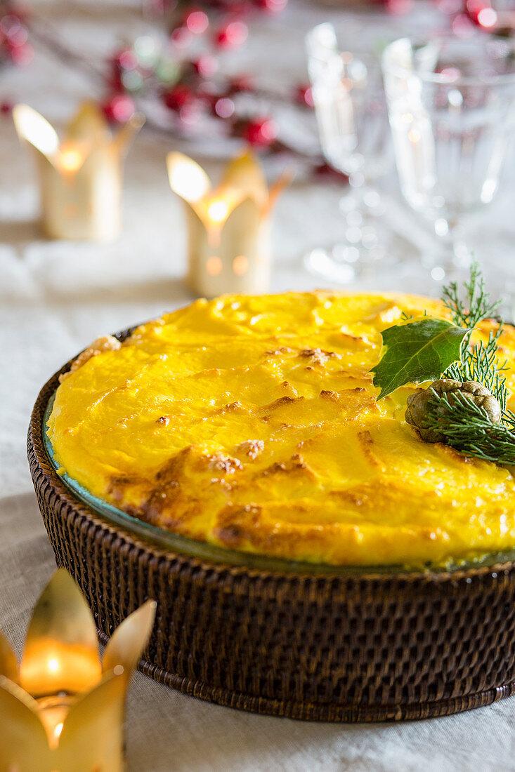 Sciusceddu (Sicilian minced meat bake)