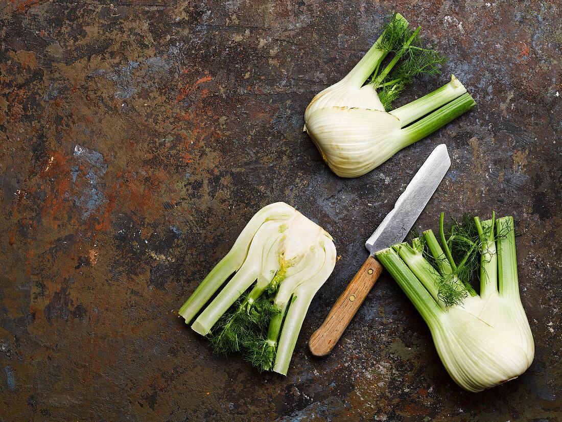 Raw fennel