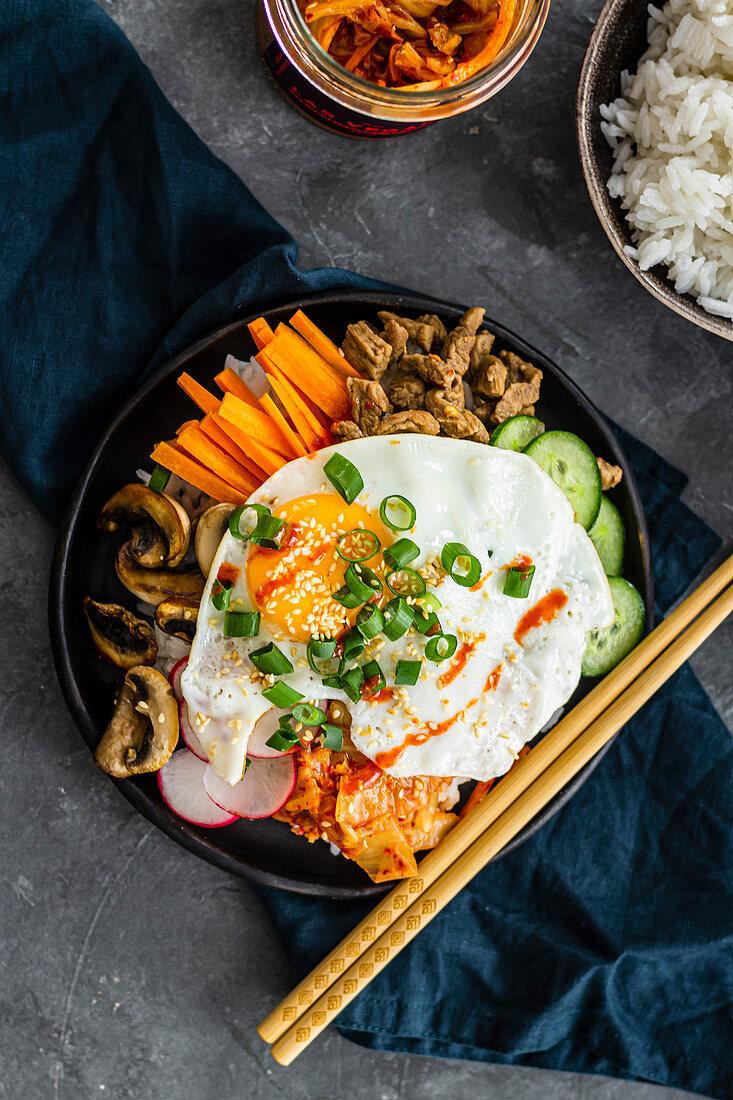 Bibimbap Kimchi
