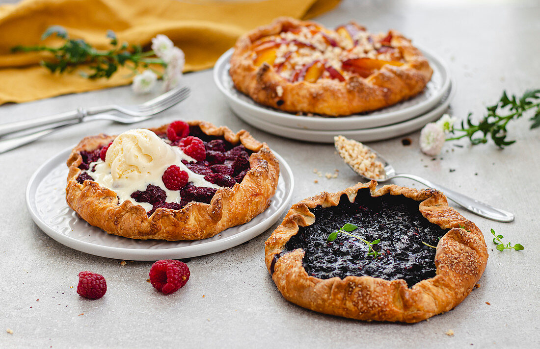Galettes With Fruits