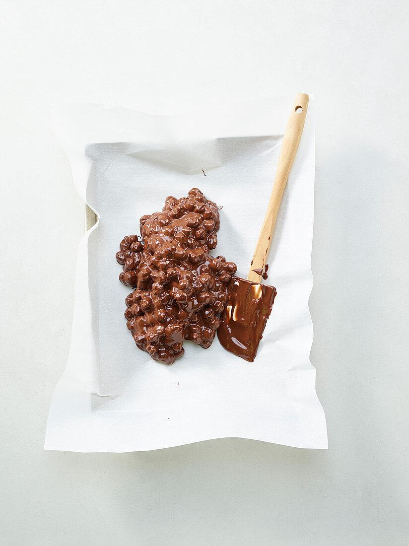 How to make chickpea chocolate