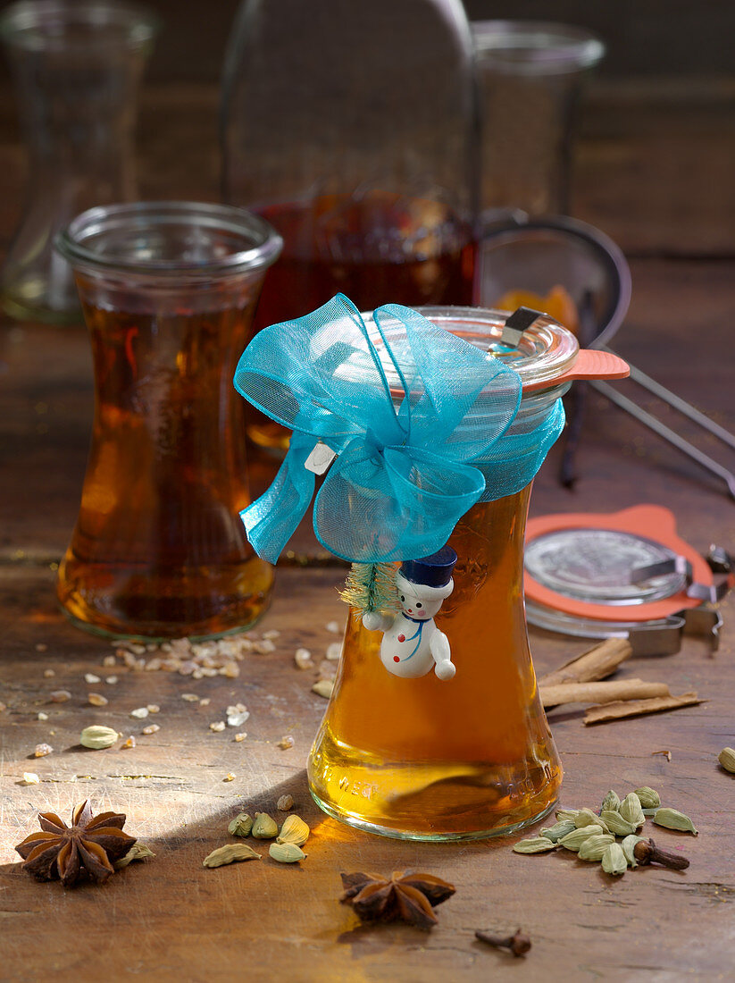 Spiced rum for gifting