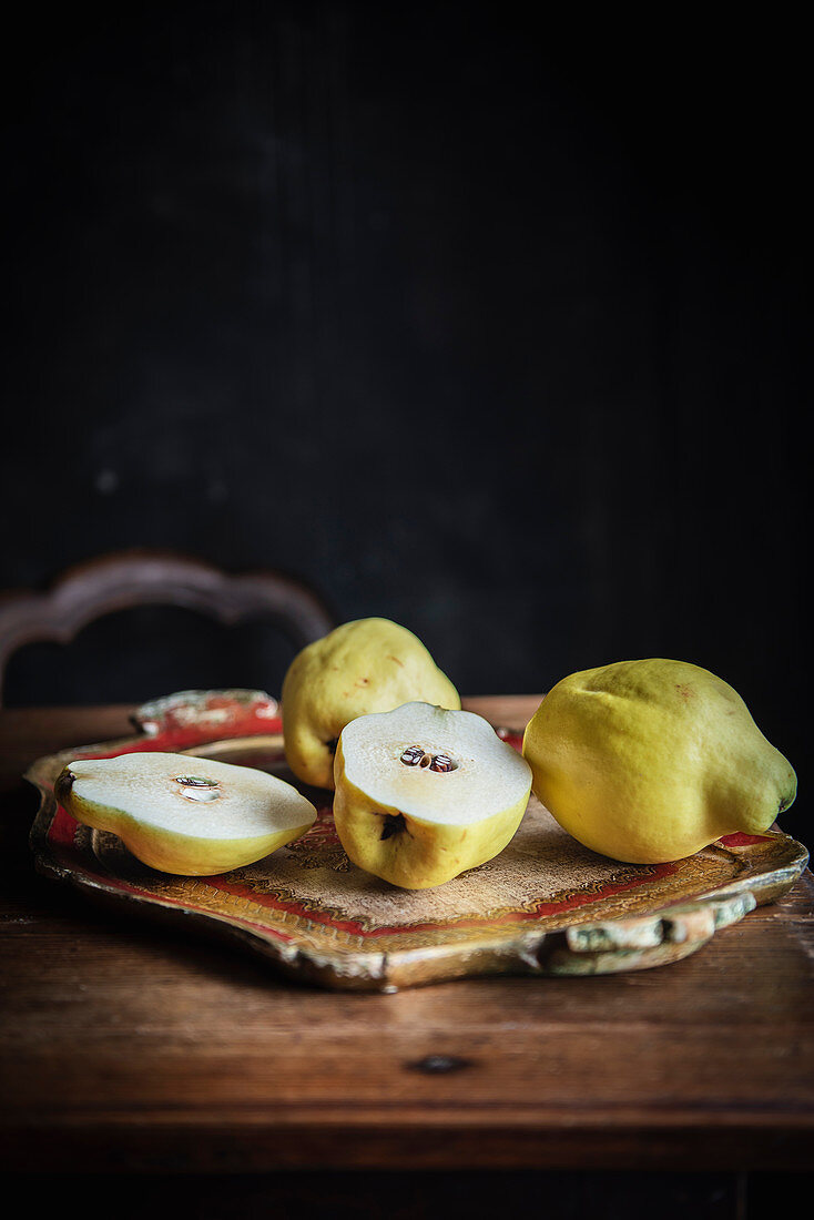 Still Life with Quince