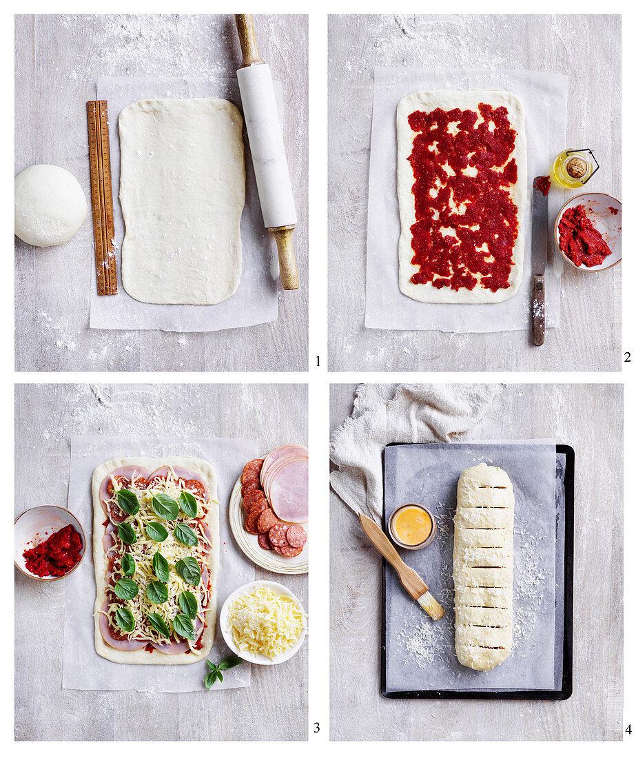 Preparing 'Stromboli'