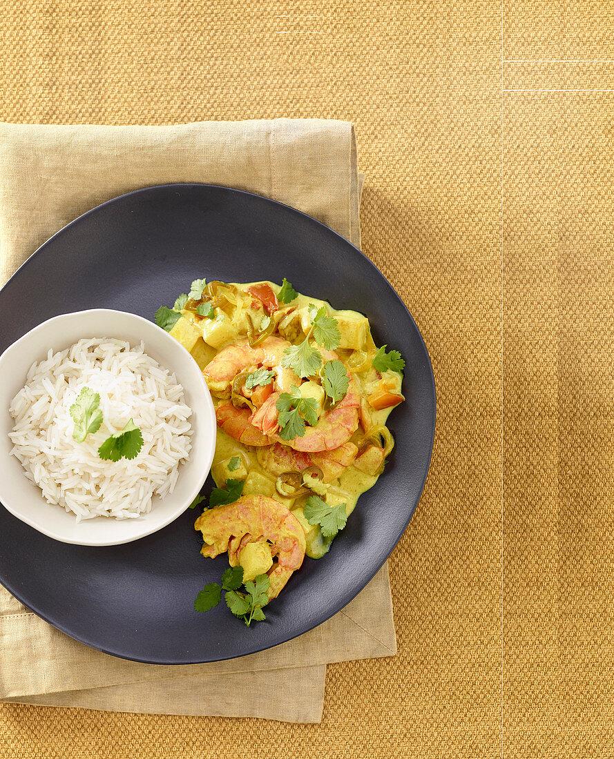 Kamba (prawn curry, Tanzania)