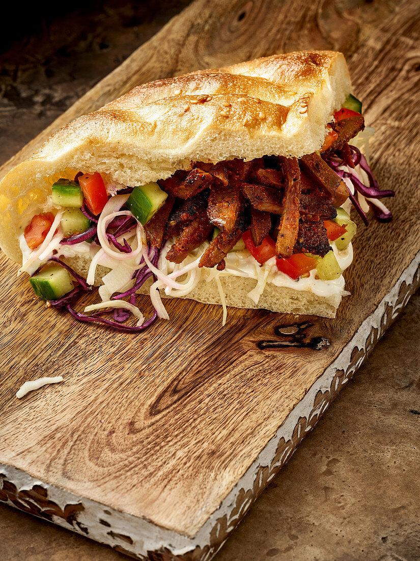 Venison kebab