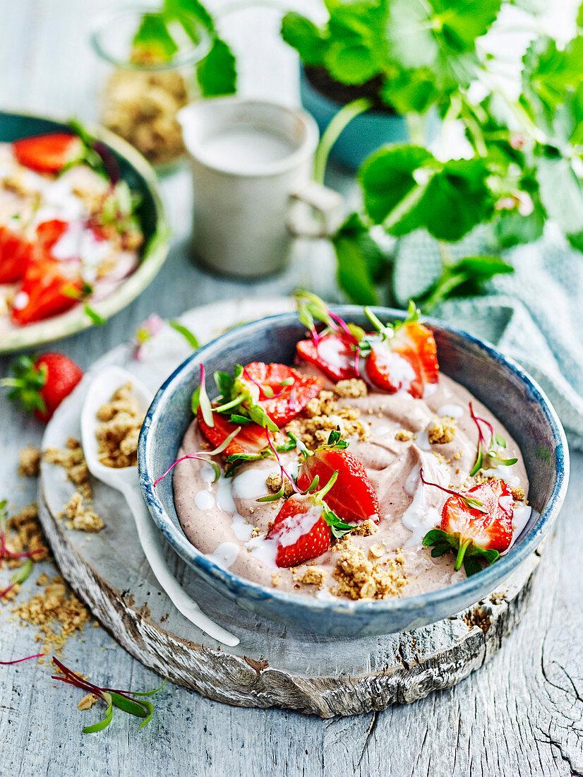 Whats in Season Berries Strawberry Shortcake