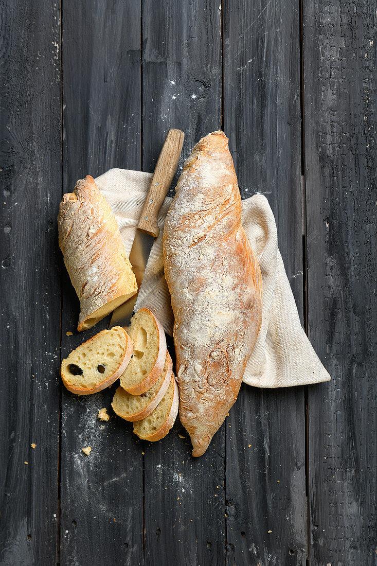 Yeast white bread
