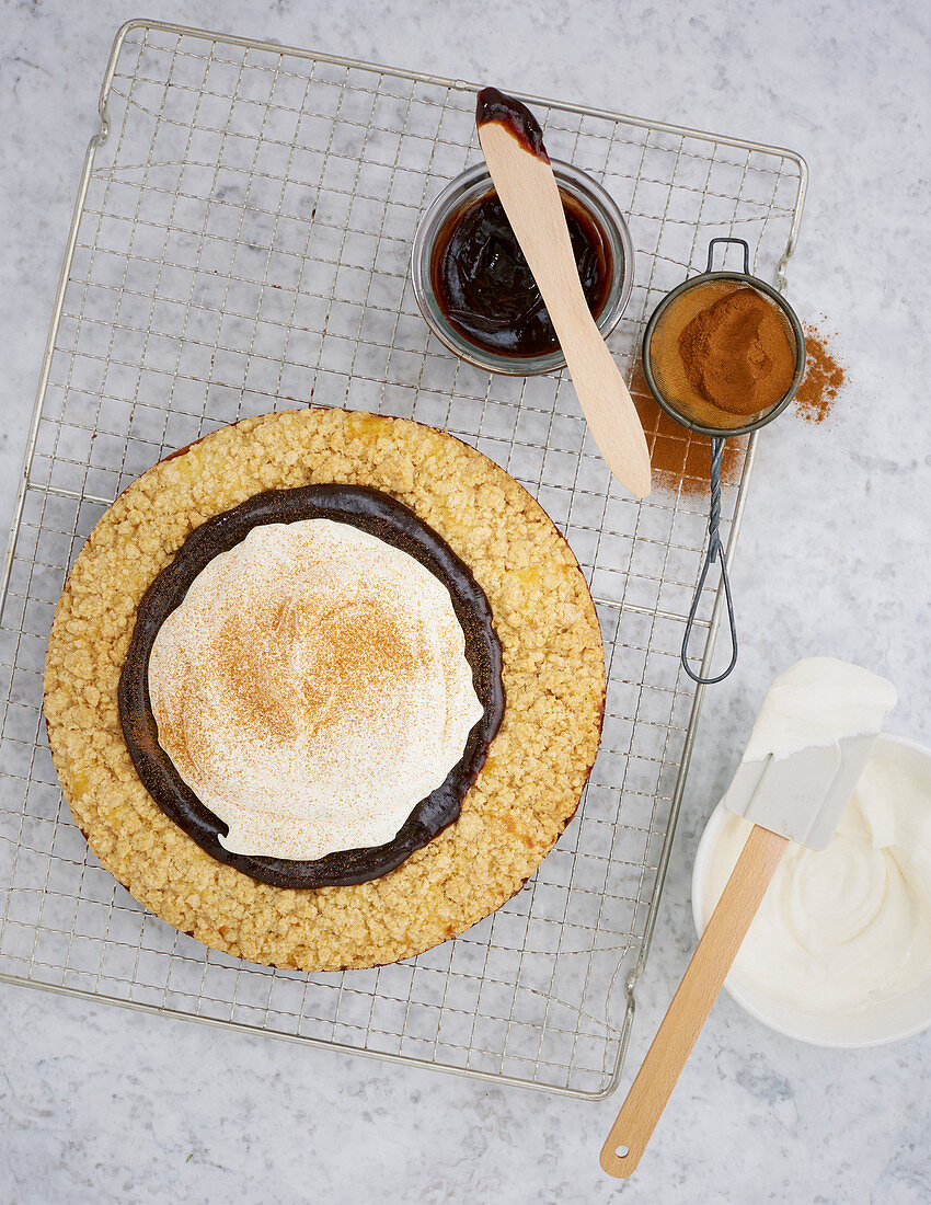 Frisian cheese cake