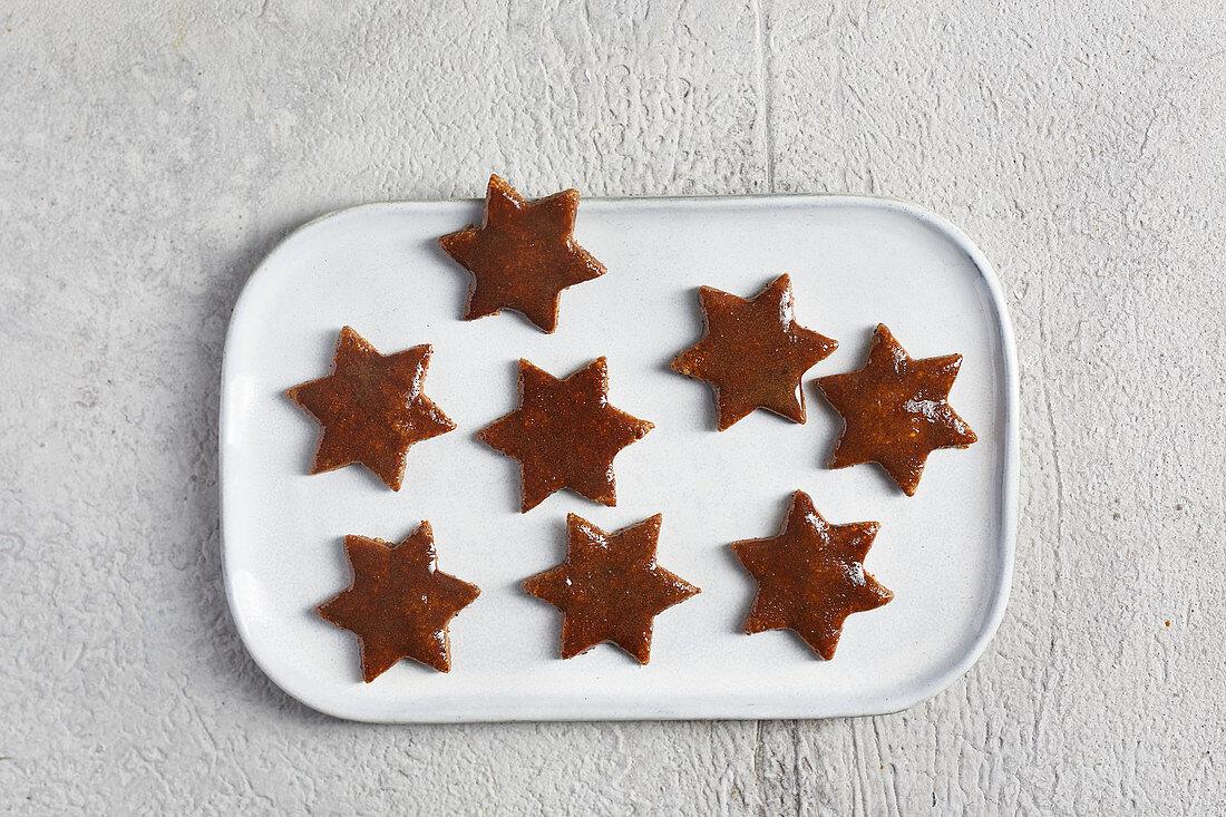Sugar-free cinnamon stars