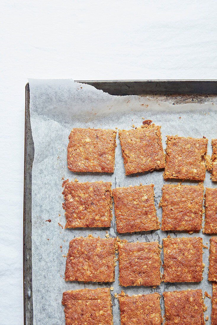 Oat biscuits with ginger