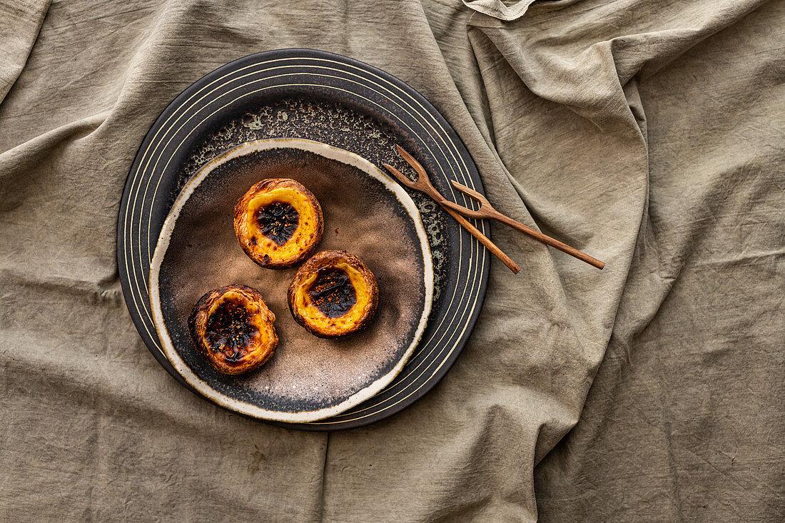 Pasteis de Nata - Portuguese Custard Tart