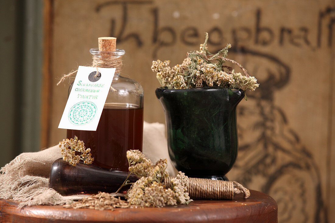 Yarrow and sticklewort tincture (for gastrointestinal infections)