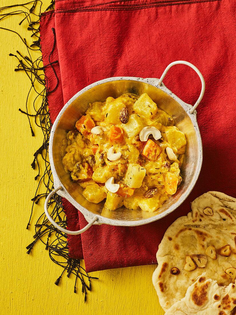 Indian vegetable korma