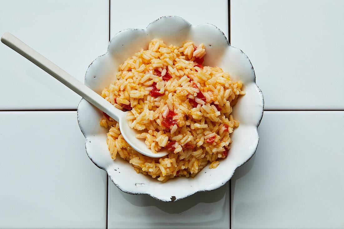 Portuguese-style rice