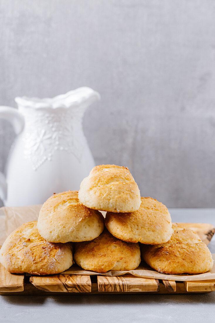 Cottage cheese vanilla buns