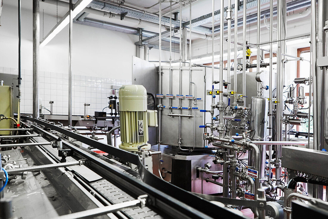 Bottling plant, Monika Christmann, Germany