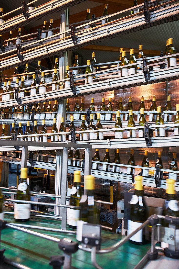Bottling plant, Maison Louis Latour, Burgundy, France