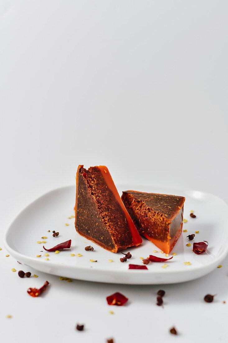 Uncooked hotpot seasoning butter (China)