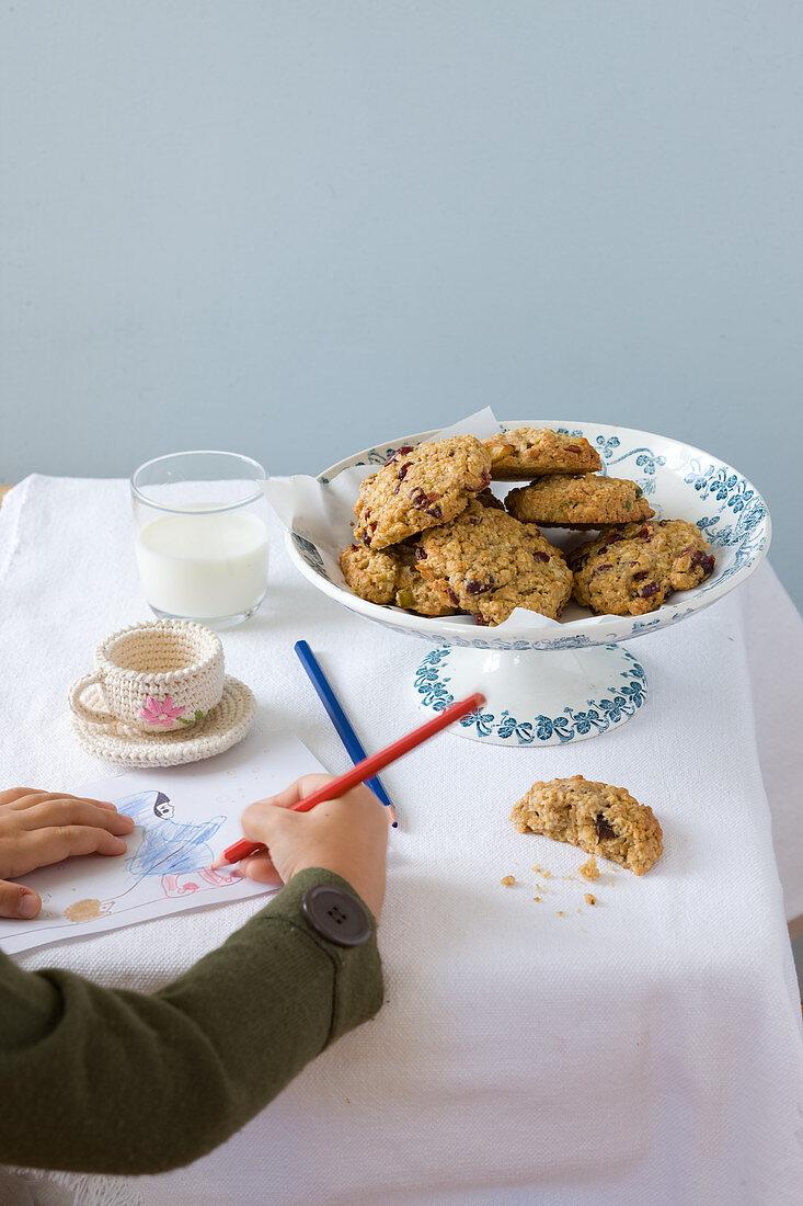 Muesli cookies for kids
